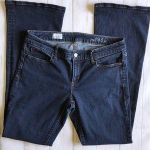 GAP 1969 Jeans Sexy Boot Cut 31T 31 Tall EUC